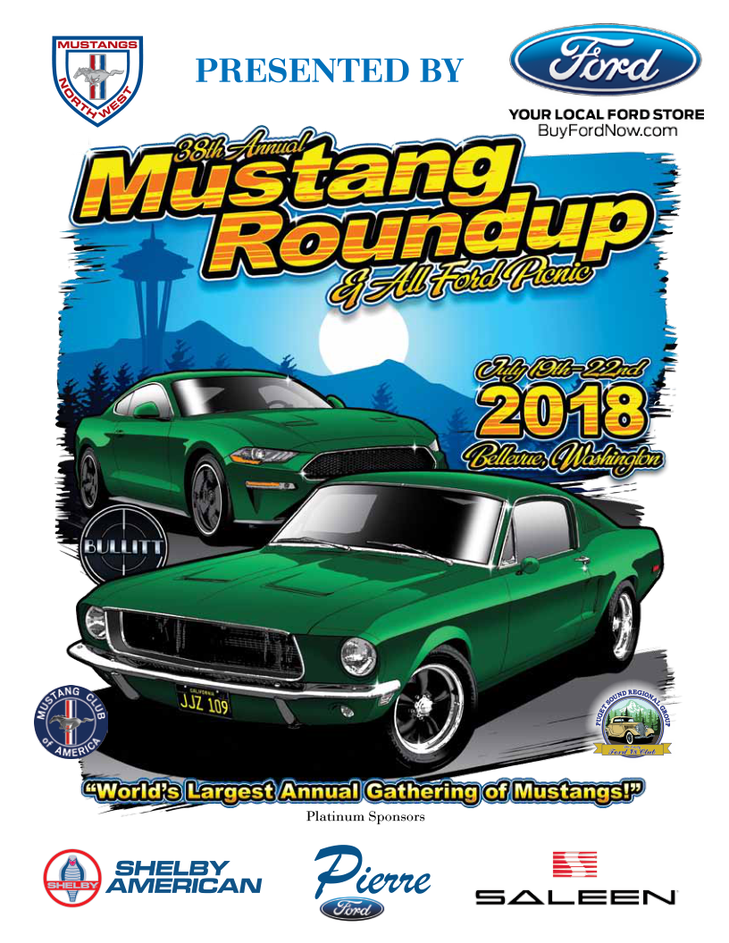 Mustangs Northwest Dedicated To The Preservation Restoration And - Kirkland classic car show 2018